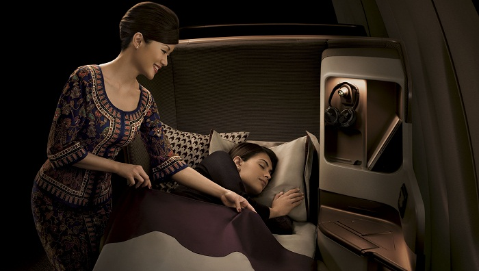 New Business Class Bed